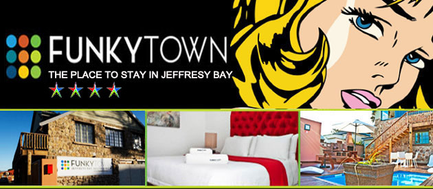 FunkyTown South Africa - Jeffreys Bay